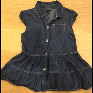 Tommy Hilfiger denim dress   Offers accepted